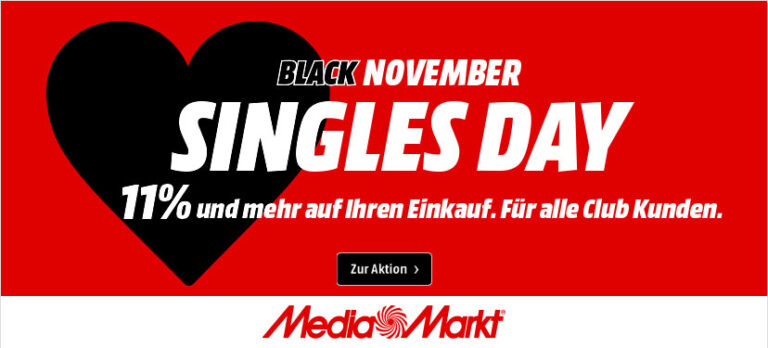11do11: Media Markt Singles Day 2021: Alle Deals, Angebote & Gutscheine